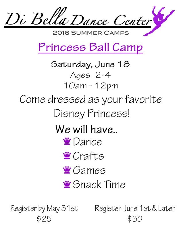 Princess Ball Camp